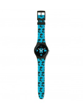 SWATCH COFFEE BLUE-S WATCH