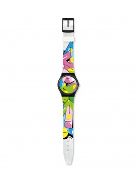 SWATCH IMAGE OF GRAFFITI WATCH
