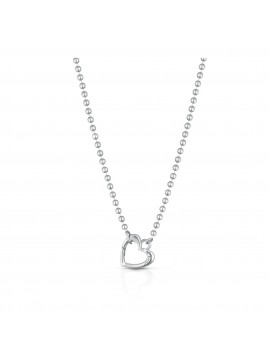 LE BEBÈ LINK YOUR LOVE NECKLACE AND SILVER HEART SNAP HOOK
