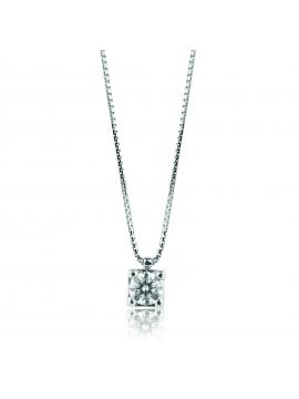 MIRCO VISCONTI WHITE GOLD PRINCESS NECKLACE WITH DIAMOND