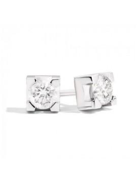 RECARLO LOBO EARRINGS IN WHITE GOLD AND DIAMONDS