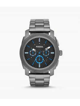FOSSIL MACHINE CHRONOGRAPH WATCH IN SMOKED STEEL