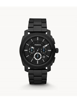 FOSSIL MACHINE CHRONOGRAPH WATCH IN BLACK STEEL