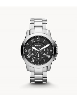 FOSSIL GRANT CHRONO STAINLESS STEEL WATCH