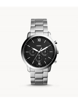 FOSSIL NEUTRA CHRONO STAINLESS STEEL WATCH