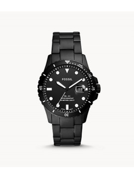 FOSSIL FB-01 THREE BALLS WATCH IN BLACK STAINLESS STEEL