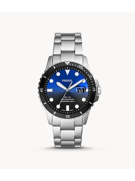 FOSSIL FB-01 THREE BALL WATCH IN STAINLESS STEEL