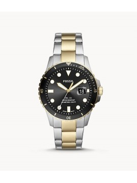 FOSSIL FB-01 THREE BALLS STAINLESS STEEL BICOLOR