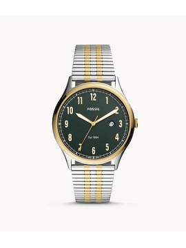 FOSSIL FORRESTER THREE BALLS STAINLESS STEEL BICOLOR
