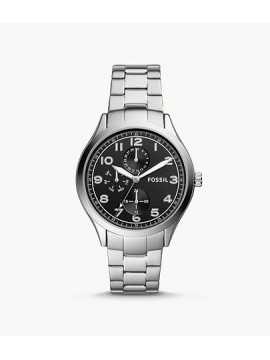 FOSSIL WYLIE MULTIFUNCTION STAINLESS STEEL WATCH