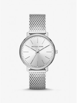 MICHAEL KORS PYPER WOMAN WATCH IN STAINLESS STEEL SILVER SHADES