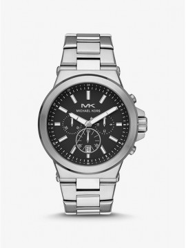 MICHAEL KORS DYLAN CHRONOGRAPH WATCH IN STAINLESS STEEL SILVER SHADES