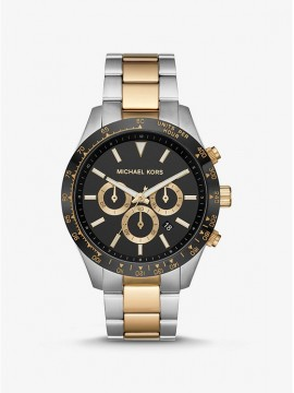 MICHAEL KORS LAYTON CHRONOGRAPH WATCH IN TWO-TONE STAINLESS STEEL
