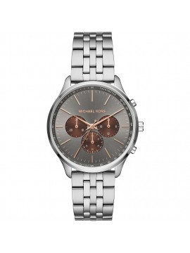 MICHAEL KORS SUTTER CHRONOGRAPH WATCH IN STAINLESS STEEL