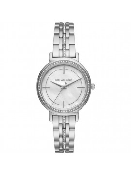 MICHAEL KORS CINTHIA WOMAN WATCH STAINLESS STEEL WITH CRYSTALS