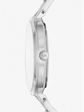 MICHAEL KORS JARIN WOMAN WATCH IN SILVER COLOR STEEL AND BRACELET WITH CRYSTALS