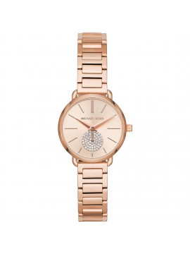 MICHAEL KORS PETITE PORTIA WOMAN WATCH IN ROSE GOLD TONE STEEL