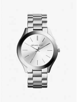 MICHAEL KORS RUNWAY STAINLESS STEEL WATCH SILVER SHADES