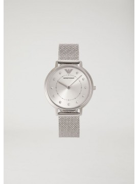 EMPORIO ARMANI WOMAN WATCH IN STAINLESS STEEL AND MESH BRACELET