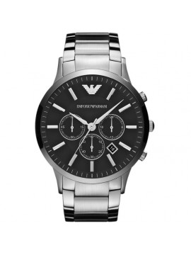 EMPORIO ARMANI RENATO CHRONOGRAPH WATCH IN STAINLESS STEEL