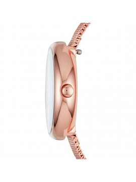 SKAGEN SIGNATUR WOMAN WATCH IN STAINLESS STEEL TONALITY ROSE GOLD AND MESH BRACELET