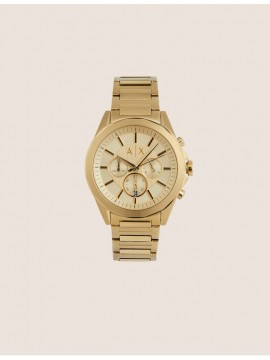 ARMANI EXCHANGE LOLA CHRONOGRAPH WATCH IN STAINLESS STEEL GOLD TONE