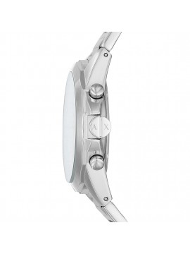 ARMANI EXCHANGE CHRONOGRAPH WATCH IN STAINLESS STEEL SILVER TONE