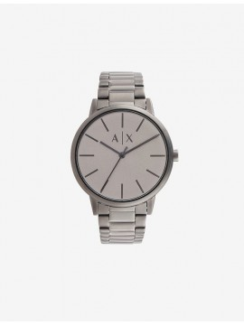 ARMANI EXCHANGE CYDE STAINLESS STEEL WATCH RIFLE TONE