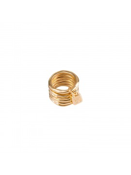 ONE OF 50 PRISIONERO RING IN GOLD WET METAL