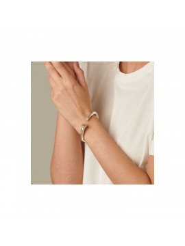 UNO DE 50 CLAVO BRACELET IN THE SHAPE OF A NAIL IN GOLD WET METAL