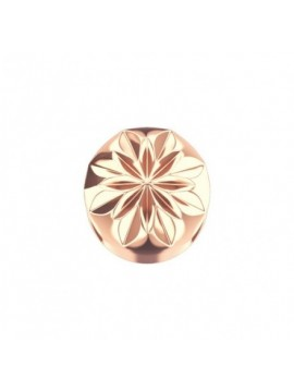ELEMENTS ROUND CLIP IN ROSE GOLD