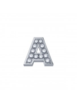 ELEMENTS SQUARE CLAWS IN WHITE GOLD AND DIAMOND