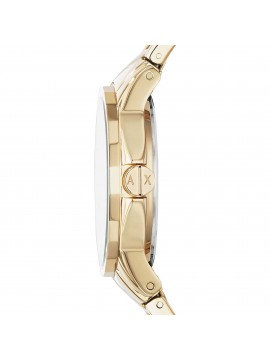 ARMANI EXCHANGE LADY BANKS WOMEN'S WATCH IN GOLD TONE STEEL