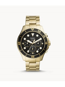 FOSSIL FB-03 CHRONOGRAPH WATCH IN STAINLESS STEEL PVD COLOR GOLD