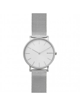 SKAGEN HAGEN SLIM WATCH IN STAINLESS STEEL WITH SILVER DIAL AND MESH BRACELET