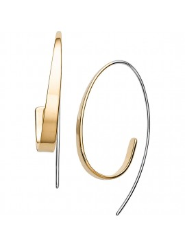 SKAGEN KARIANA EARRINGS IN BICOLOR STAINLESS STEEL