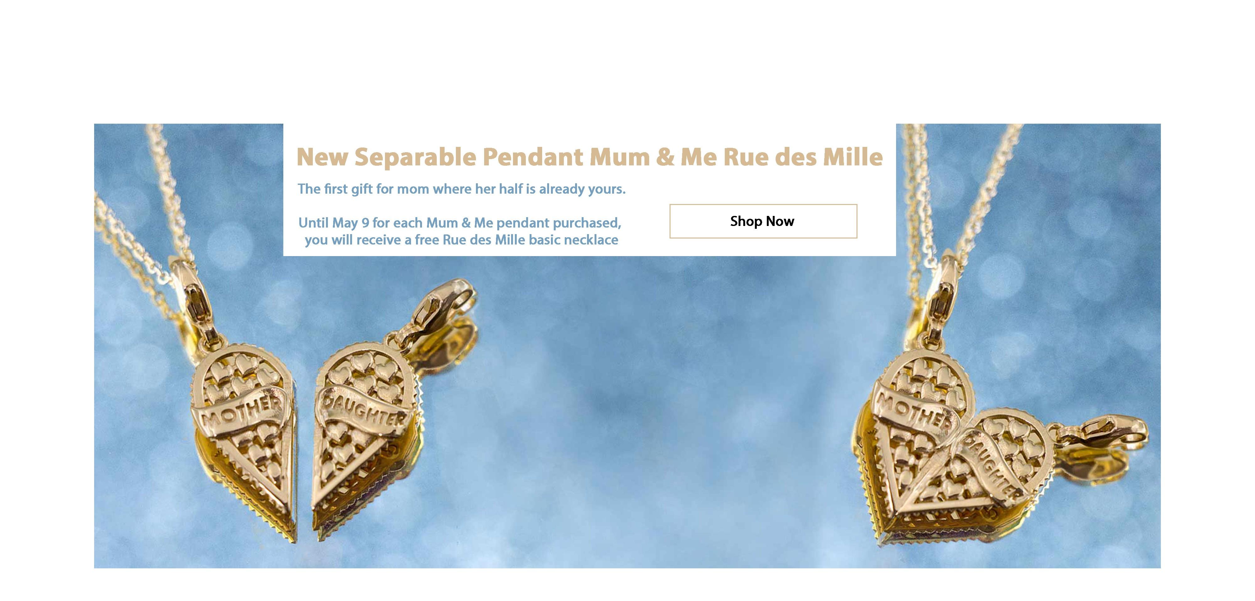 Pendant Separable Mum&Me Rue des Mille